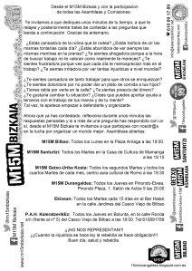 octavilla m15m asambleas y comisiones
