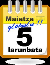 Maiatza Globala: Maiatzak 5ko ekimenak