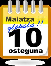 Maiatza Globala: Maiatzaren10erako jarduerak