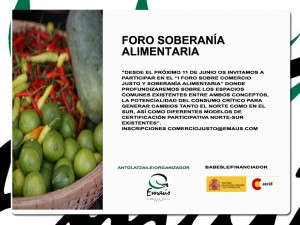 1er foro de soberania alimentaria