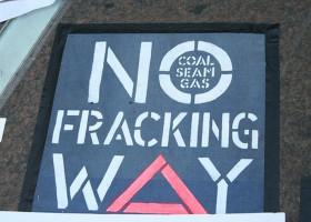 No Fracking Way!