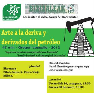 "Documental ""Derivados del petroleo"""