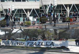 protesta junta accionistas BBVA