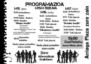 programacion 15m3 eusk