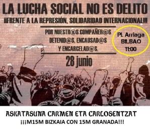 Solidaridad con granada