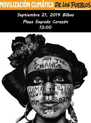 Movilización Climática de los Pueblos Bilbao