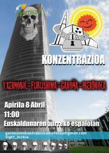 cartel Junta Iberdrola