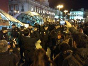 noche en pie Madrid